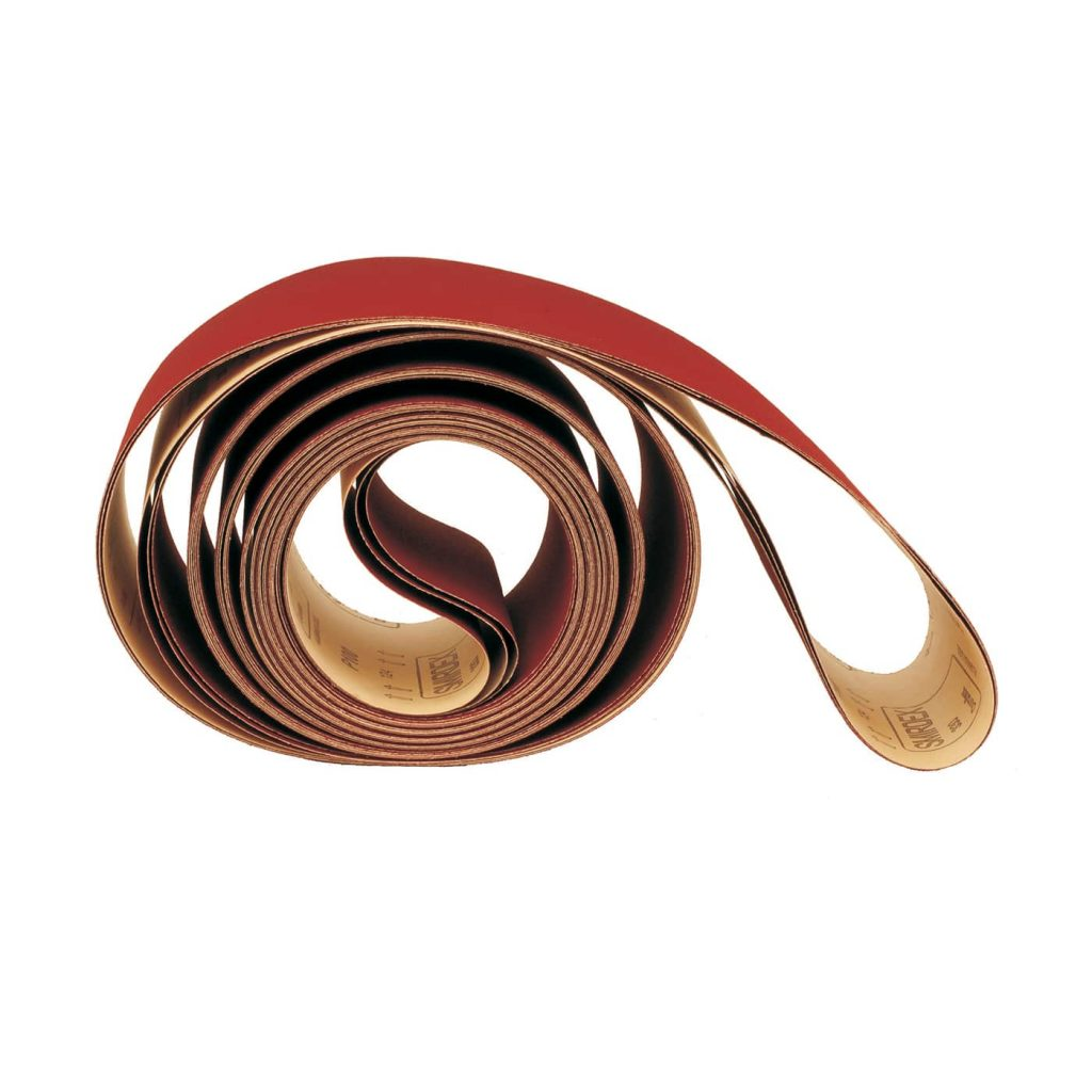 smirdex-330-tn-paper-belts,mechanical sanding,edge sanding,clogging prevention, high-speed,fine-finish