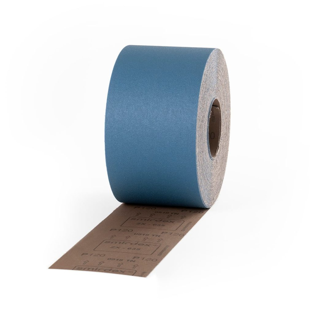 smirdex-635-zx-velour-rolls,hard wood sanding,durability, zirconia alumnia,performance