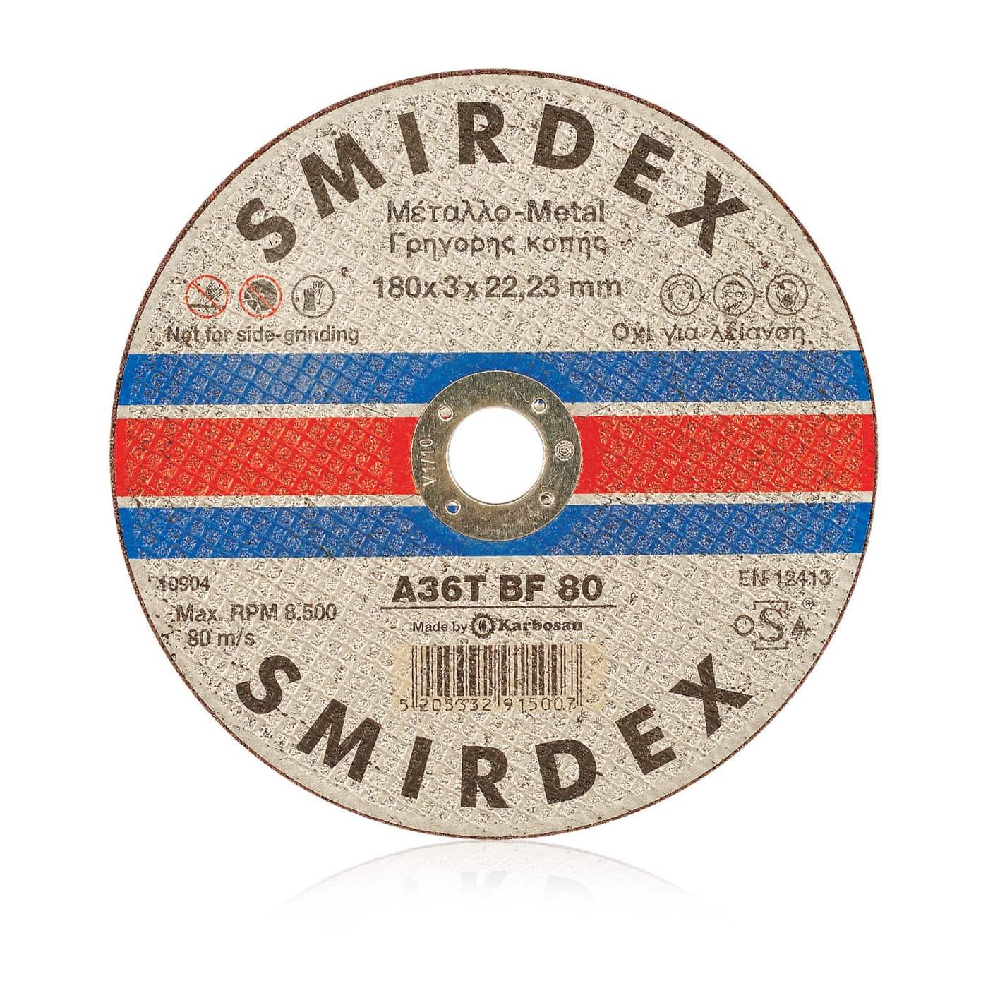 smirdex-911-cutting-wheels,fast,clean,accurate cut