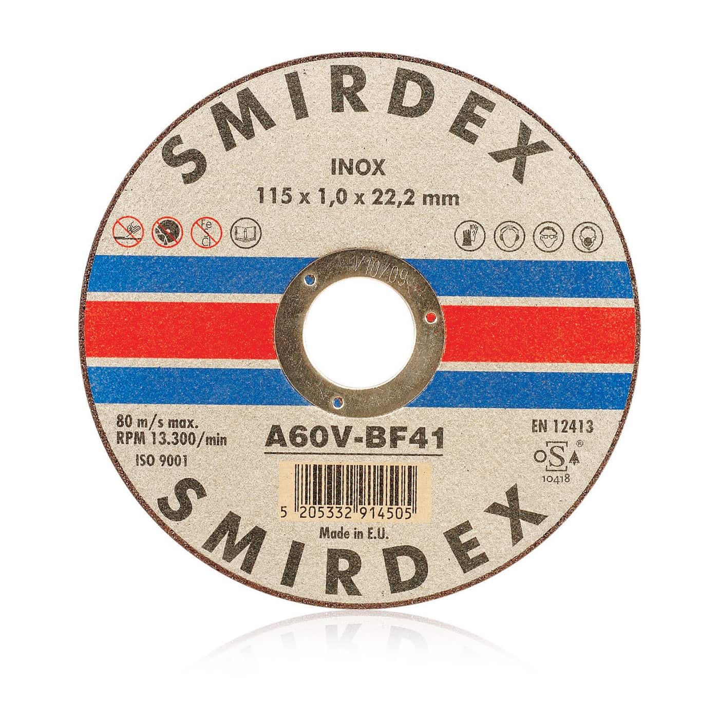 smirdex-914-cutting-wheels, cutting wheel, dedicated to stainless-steel alloys cutting, adding durability and precision to inox treatment