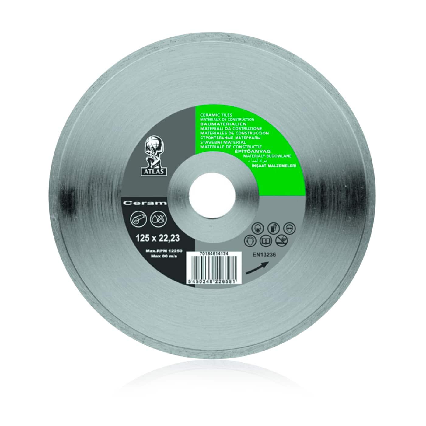 918 ATLAS алмазные отрезные диски по керамической плитке